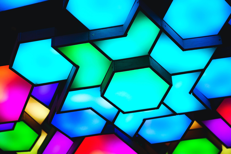 abstraktní osvětlení