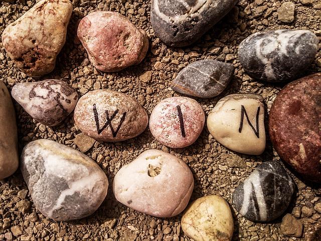 pospané kamínky