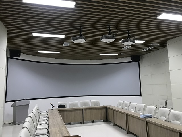 promítací sál