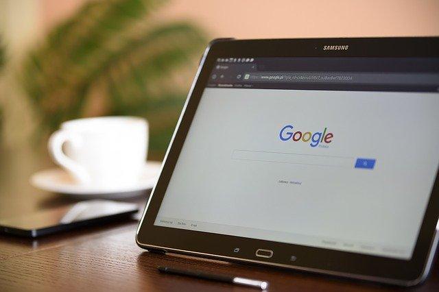 tablet vyhledávání Google