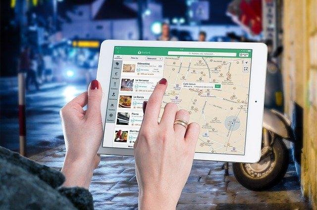 online hledání restaurace